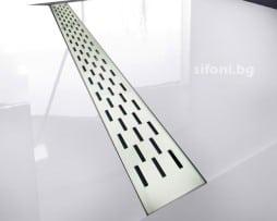 Podov lentov sifon za banq i dushkabina pravougulnik START
