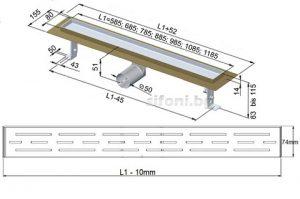 podov lentov sifon razmeri LUX