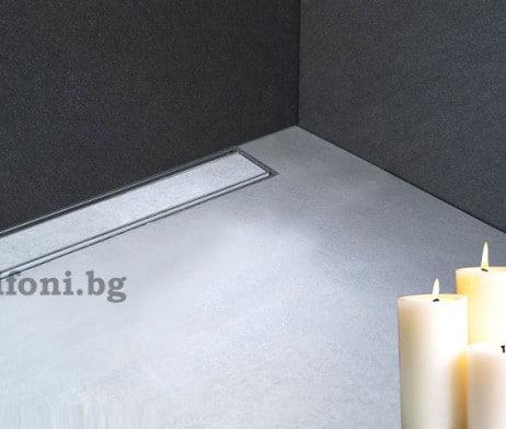 lineini podovi sifoni za vgrajdane v stena plochka 1